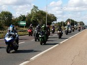 Essex Air Ambulance Fun Motorbike Ride to Harwich Green