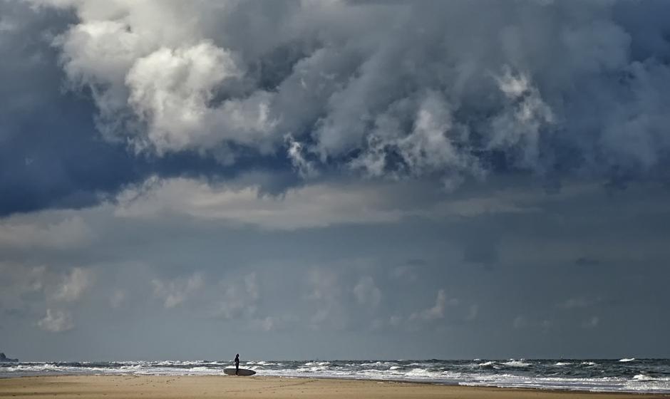 Cumunolimbus boven Zee geeft het strand vele gezichten!
