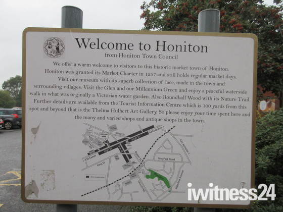 Welcome to Honiton