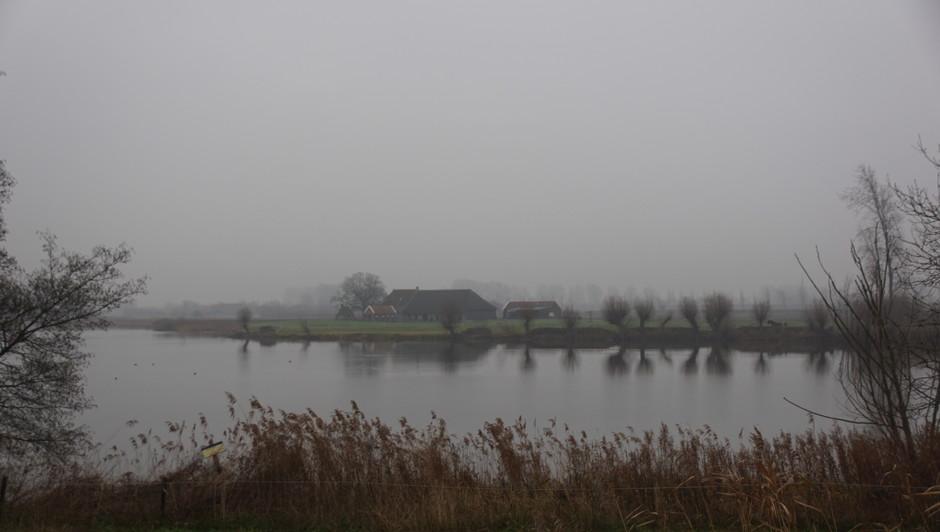 grijs en regenachtig weer