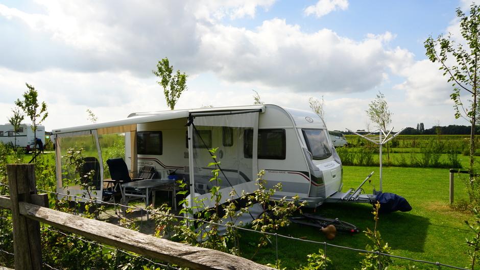 Naar het weekeinde toe beter campingweer