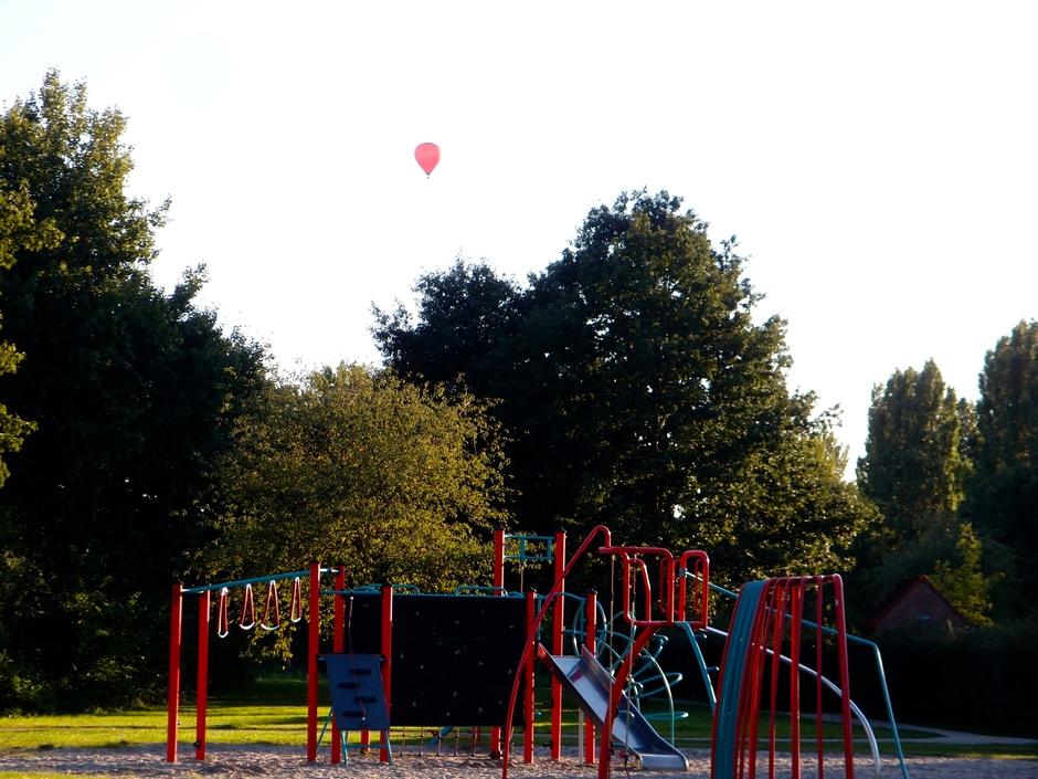 13-09-2029 Ballonvaart Huizen Noord-Holland