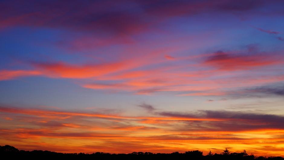 Wolken kleuren