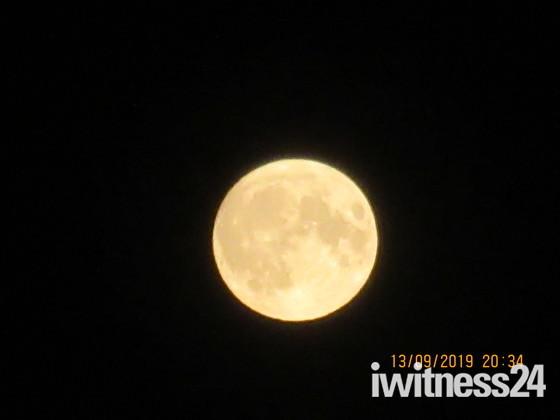 Full Moon on Friday 13th September 2019