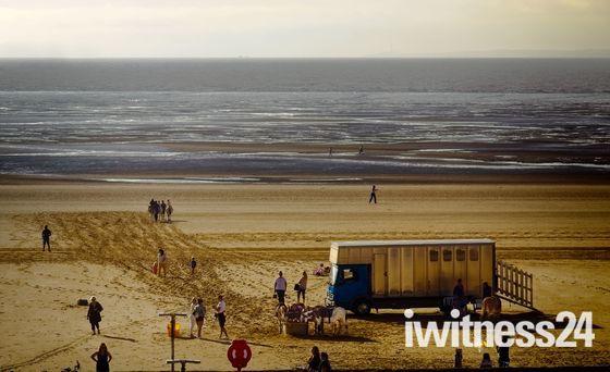Sandtracks tell a story…