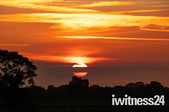 Sunset over Stalham