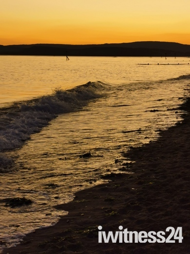 Dusk at Orcombe Point