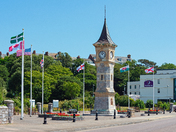 The Clock Tower, Exmouth Seafront