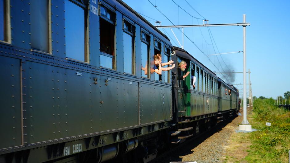 Zomerse treinreis
