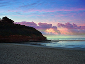Orcombe Point, Exmouth at Dawn