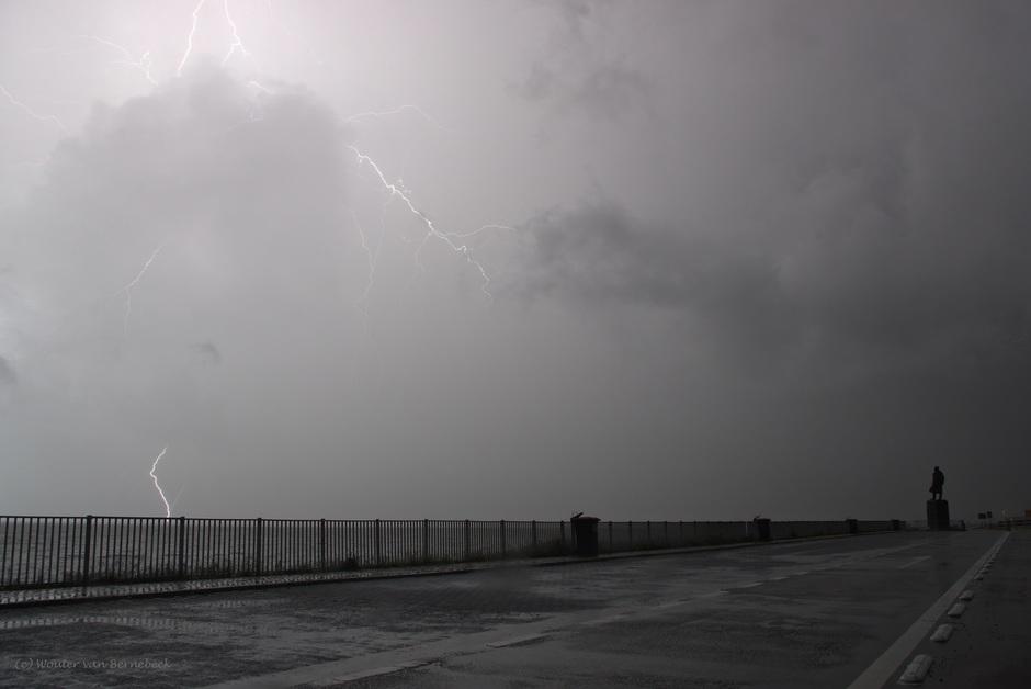 Onweer Afsluitdijk