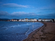 Exmouth Seafront at dawn