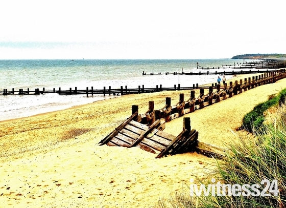 Gorleston Beach & Harbour