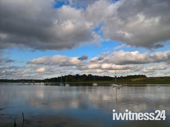 Clouds on the Deben