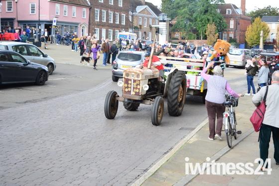 Bardwell Charity Tractor Road Run