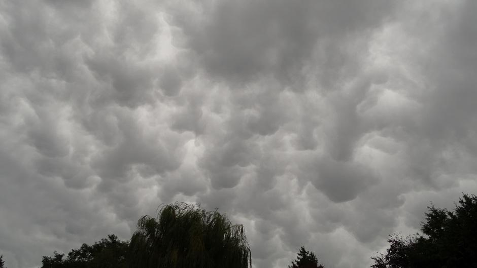 Mammatus wolken 2 dagen geleden