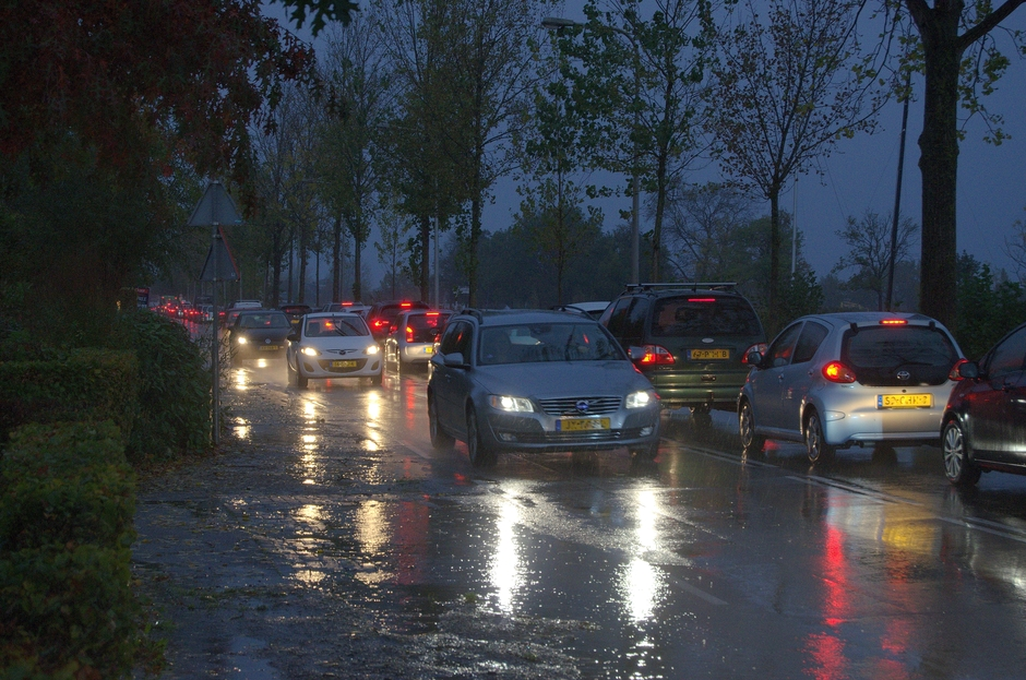 Plensbuien vanmorgen in de Gouds/Reeuwijkse regio!