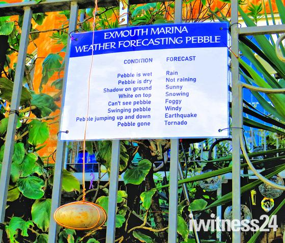 WEATHER FORECASTING PEBBLE