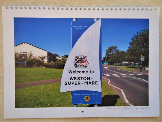 Weston 2020 Calendar.