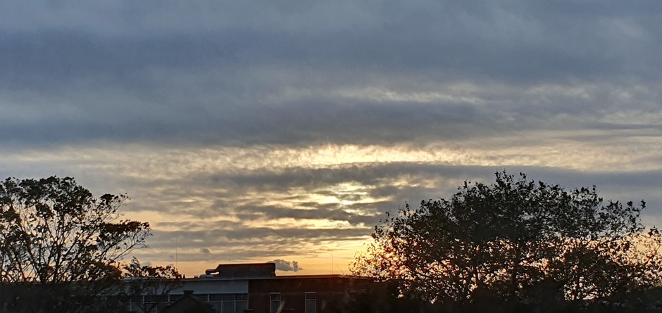 Half uur na zonsopgang