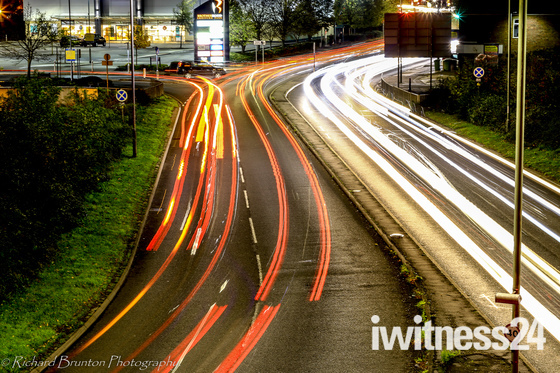 Project 52 - Light trails