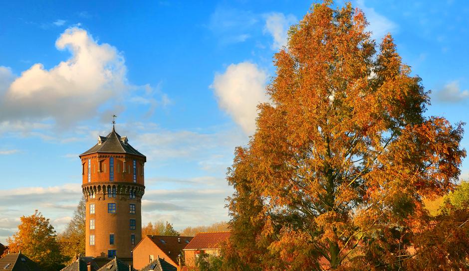 Herfstkleuren Rond De Watertoren