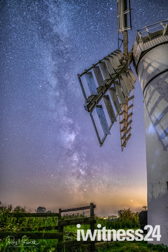 Project 52 After dark - Milky Way and Thurne Mill