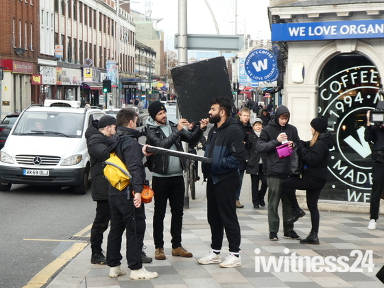 filming in ilford