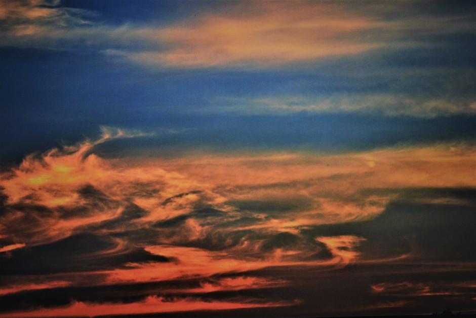 Een Vroege Maar Prachtige Zonsondergang