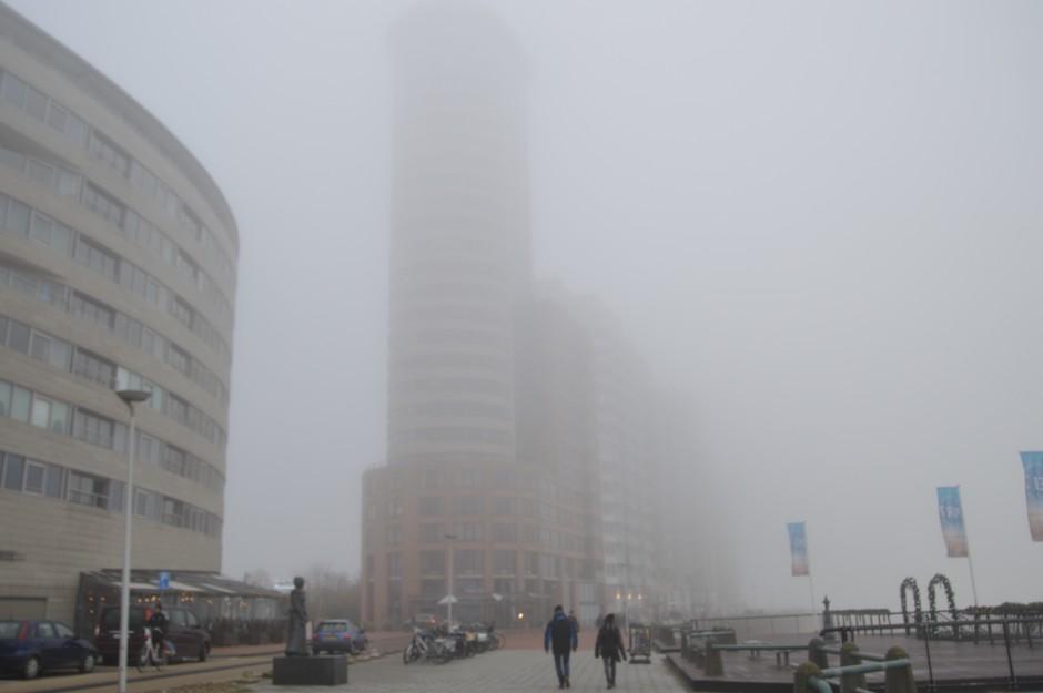 mist aan zee