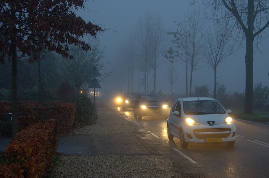 Maandag 25 November een mistige opening bij Zonsopkomst!