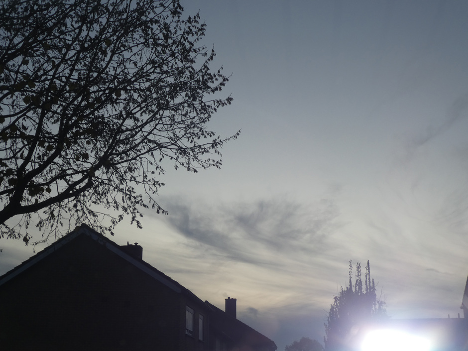 Mist en zon.