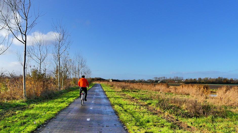 Mooie zonnige fietsdag