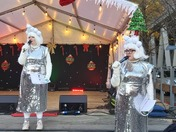 Barking Town Centre Xmas Lights Switch On