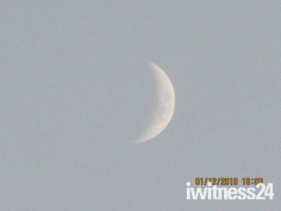 Moon Phase at dusk