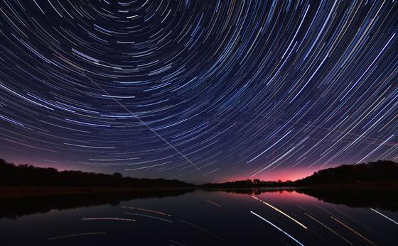 Spinning skies