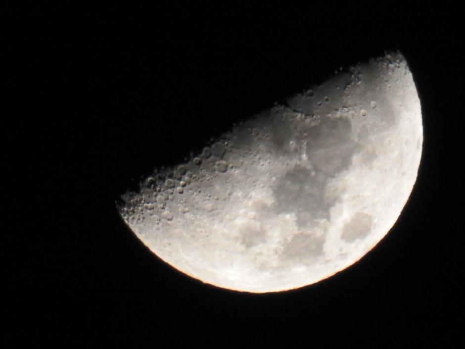 maan 1e kwartier