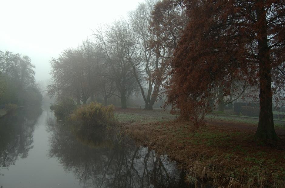 Een koude mistige opening van Sinterklaasdag op 5 December!