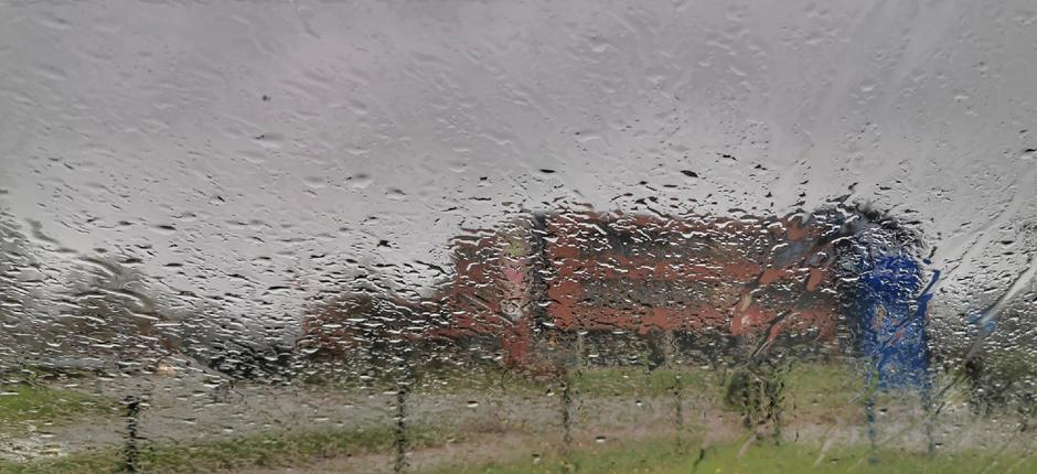 Regen en grijs vandaag