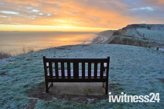 Project 52 - Frost  A frosty Mundesley morning  at the beach.