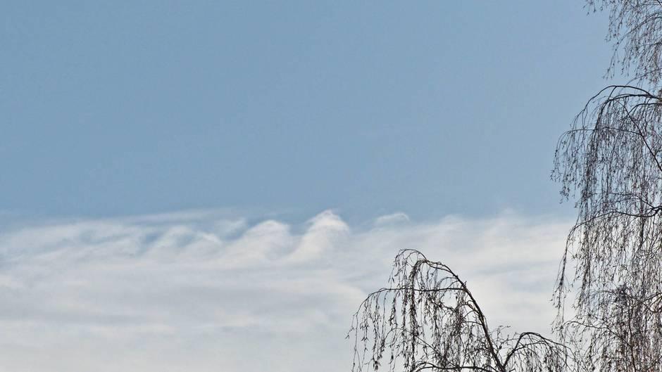 Kelvin Helmholtz wolken?