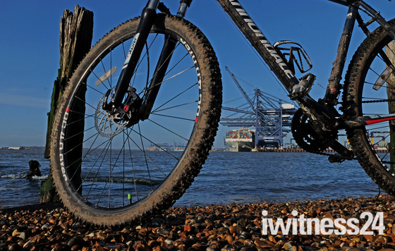 Great Day for a bike ride around the Felixstowe area :)