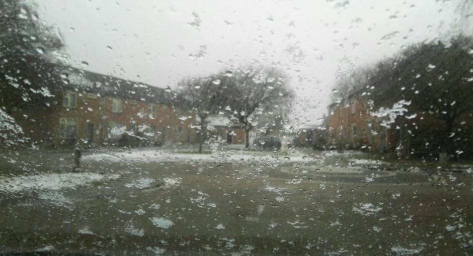 Kans op natte sneeuw (Archieffoto)