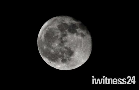 Last full moon of the decade