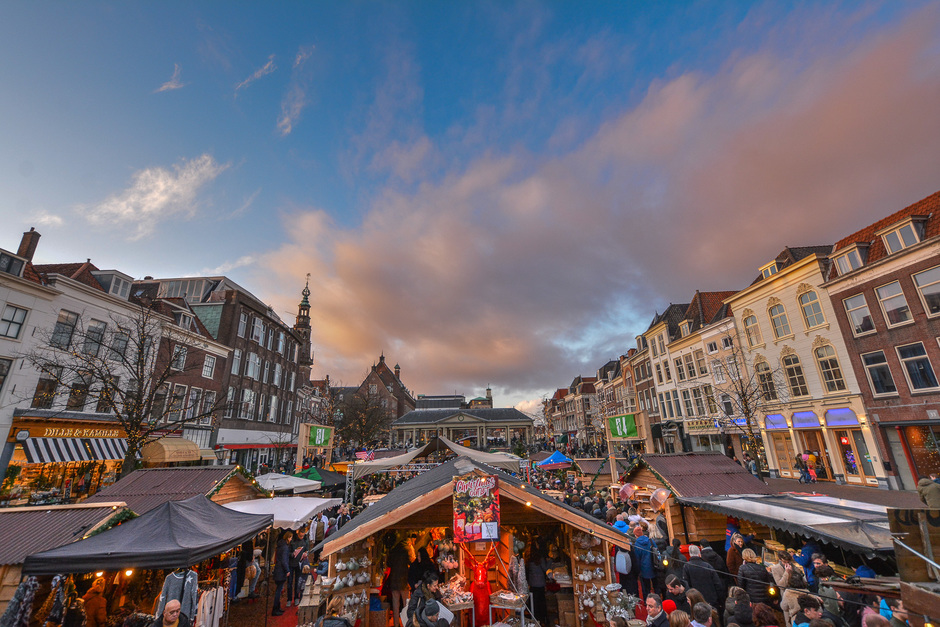 Mooi luchten in Leiden