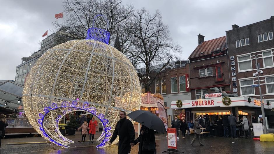 Natte Kerstmarkt