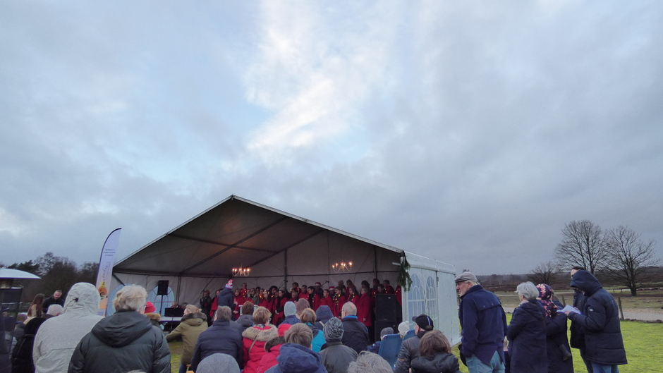 Kerst sing in schaapskooi