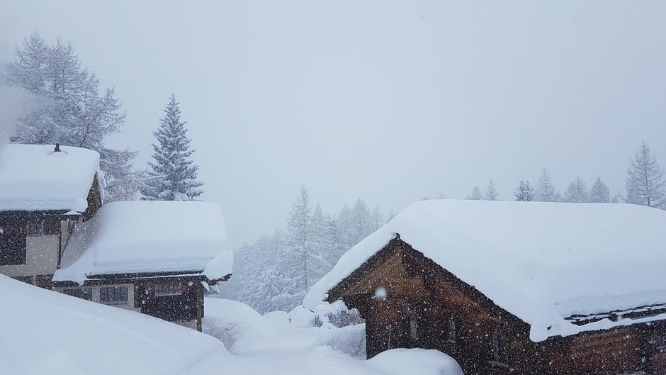 Sneeuw Walliser Alpen