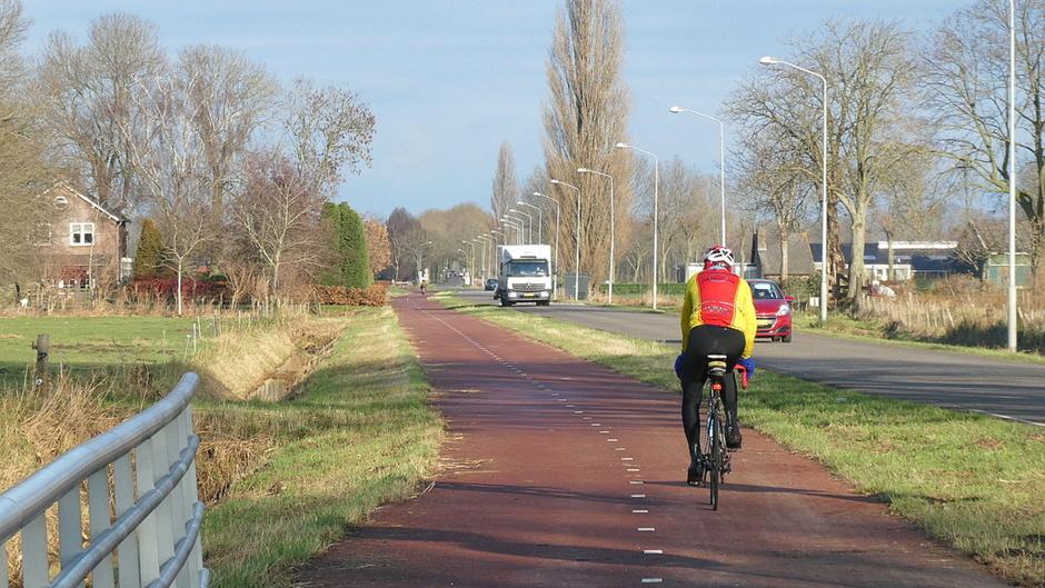 genieten op de fiets