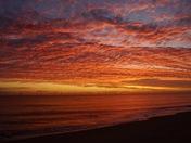 Spectacular sunrise in Caister